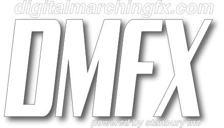 Digital Marching FX (DMFX) Logo